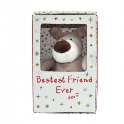 "Boofle 5"" Plush in Gift Box Bestest Friend Ever xxx"