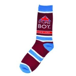 Dads Army Stupid Boy Socks