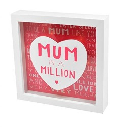 Mum In A Million Light Up Frame
