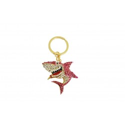 Diamante Shark Keyring & Bag Charm By Xpression Gifts