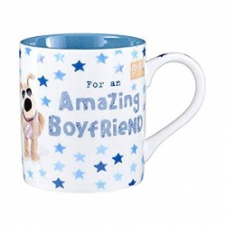 Boofle Amazing Boyfriend Ceramic Mug with Gift Box