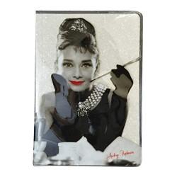 Audrey Hepburn A5 Glitter Notebook