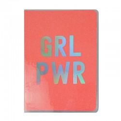 GRL PWR A5 Glitter Notebook