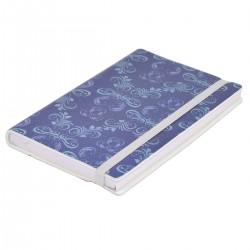 Ella Bella Rose Royal Pattern Pocket Notebook