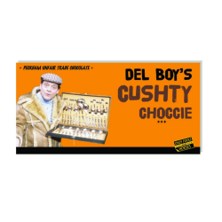 Only Fools and Horses Del Boy's Cushty Choccie Chocolate