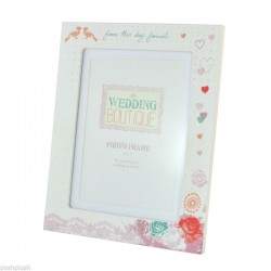 "Wedding Boutique 5""x7"" Photo Frame in Gift box - from this day forward"