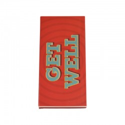 Get Well 80g Chocolate Bar Card