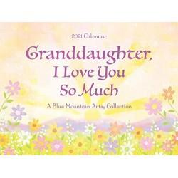 2021 Beautiful GRANDDAUGHTER Verses LARGE Calendar by Blue Mountain Arts