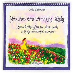 2021 You are One Amazing Lady Verses Small Calendar by Blue Mountain Arts