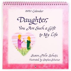 2021 DAUGHTER Verses Calendar 'You are Such a Gift to My Life' by Blue Mountain Arts