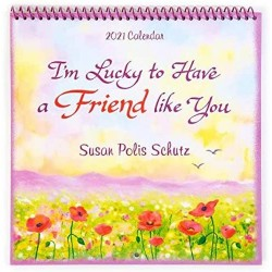 2021 FRIEND Verses Calendar 'I'm Really Lucky to have a Friend like You' by Blue Mountain Arts