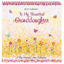 2021 Beautiful GRANDDAUGHTER Verses Small Calendar by Blue Mountain Arts