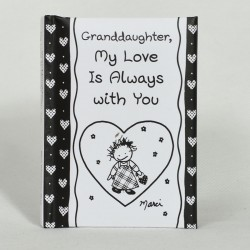 Blue Mountain Arts Granddaughter My Love Is Always With You Little Keepsake Book