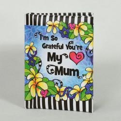 Blue Mountain Arts I'm So Grateful You're My Mum Little Keepsake Book