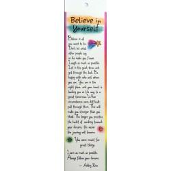 Blue Mountain Arts Believe In Yourself Bookmark (BKM108)