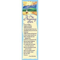 Blue Mountain Arts For My Amazing Son Bookmark (BKM143)