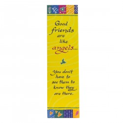 Blue Mountain Arts: Good Friends Are Like Angels Yellow Bookmark