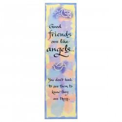 Blue Mountain Arts: Friends Like Angels Pastel Bookmark