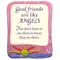 Blue Mountain Arts Good Friends Are Like Angels Fridge Magnet Gift (AGE008)