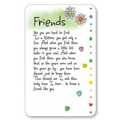 Friends Keepsake Wallet Card (WR602) Blue Mountain Arts