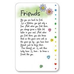 Friends Keepsake Wallet Card (WR602) Blue Mountain Arts