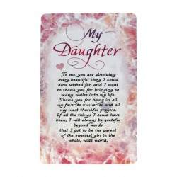 My Daughter Wallet Card