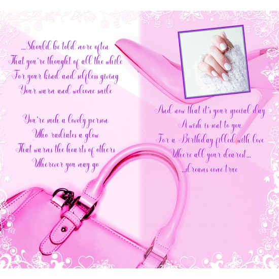 Special Daughter-in-Law on your Birthday Greeting Card with Colour Insert & Lovely Verse by Cardigan Cards