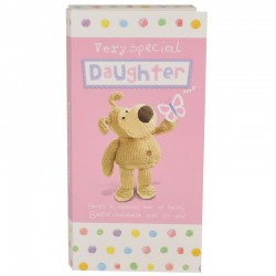 Boofle Very Special Daughter 80G Milk Chocolate Greeting Card Bar