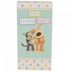 Boofle Best Friend Ever 80G Milk Chocolate Greeting Card Bar