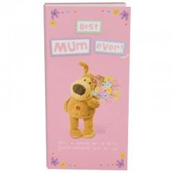 Boofle Best Mum Ever 80g Milk Chocolate Greeting Card Bar