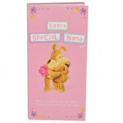Boofle Extra Special Nana 80g Milk Chocolate Greeting Card Bar
