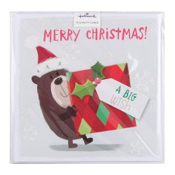 Big Wish Hallmark Charity Christmas 10 Card Pack - 1 Design