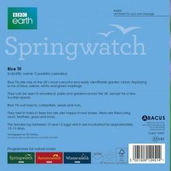 Blue Tit BBC Springwatch Range Blank Greeting Card