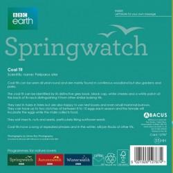Coal Tit BBC Springwatch Range Blank Greeting Card