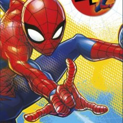 Spider-Man You're 4 Birthday Card