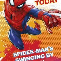 Spider-Man 5 Today Birthday Card
