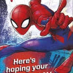 Spider-Man You're 6 Birthday Card