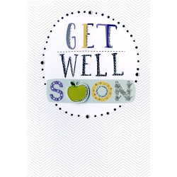 Get Well Soon 3D Greeting Card