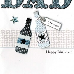 There's No One Like You Dad Happy Birthday Card