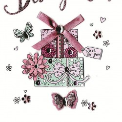 To A Very Special Daughter Happy Birthday Card