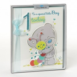 Me to You Tatty Teddy Luxury 1st Birthday Special Boy Boxed Card