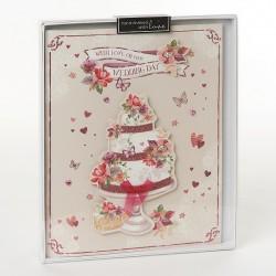 Wishing Well Studios Wedding Day Luxury Boxed Card