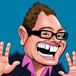 Alan Carr Really Wild Cards Blank Sound Greeting Card