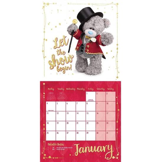 Me To You Tatty Teddy Bear Photo Finish Home Office Large Wall Calendar 2021