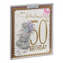 Me to You Tatty Teddy Fantastic 50th Birthday Luxury Boxed Card