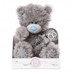 "Me to You Signature Collection 9"" teddy bear holding 18th Birthday Key"