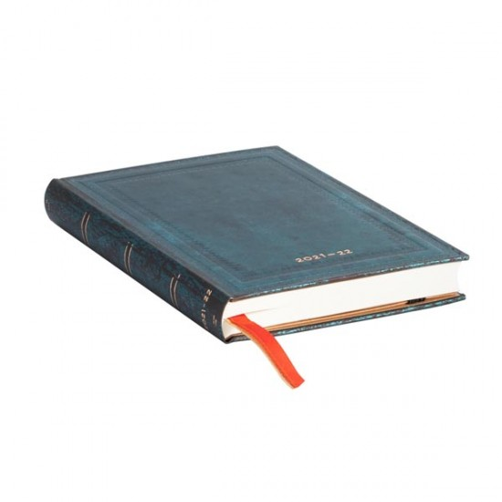 2022 CALYPSO BOLD Luxury Leather Hardback MINI 18 Month 2021-2022 Diary Weekly Planner by Paper Blanks
