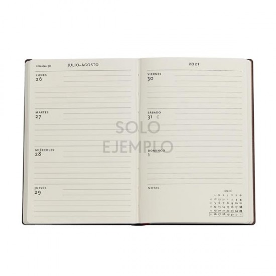 2022 VIOLET FAIRY Luxury Leather Hardback MINI 18 Month 2021-2022 Diary Weekly Planner by Paper Blanks