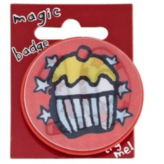 10th Birthday Magic Holographic Badge